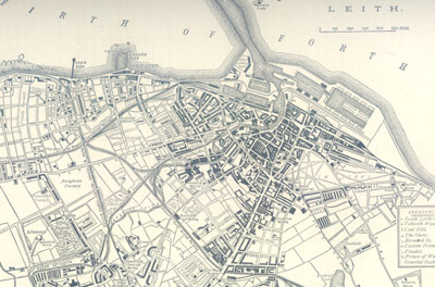Plan of Leith 1883