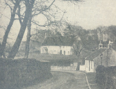 Thatched Cottage at Lochend