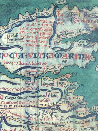 A Early Map of Scotland