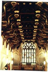 Hammerbeam Roof South Leith Parish Church