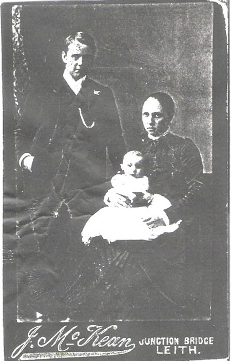 unknown Leith Family possibly Robert Buchan