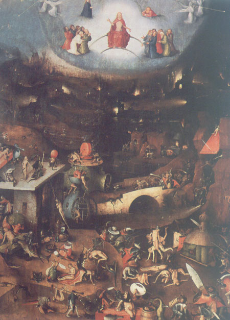 The Last Judgement by Bosch 1450-1516