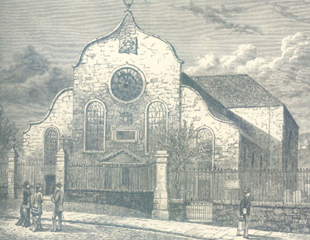 The Canongate Kirk 1883