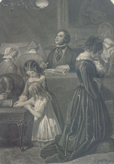 This a Victorian Ideal of Family Worship