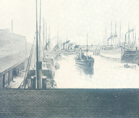 View of the East Old Dock