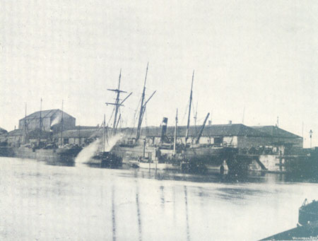 View in Victoria Dock 1898