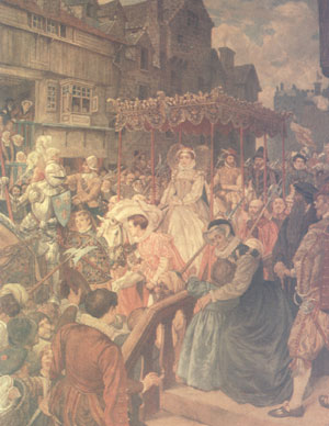 Entry of Mary,Queen of Scots into Edinburgh 1561