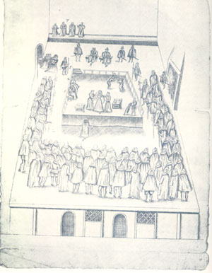 The Execution of Mary,Queen of Scots 1587