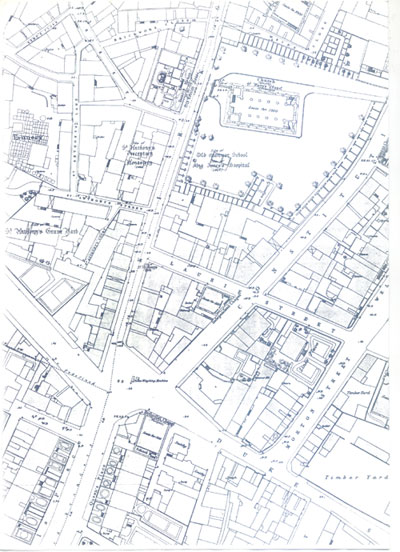 foot of Leith Walk 1852