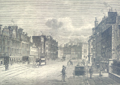 From Gayfield Square looking South 1883