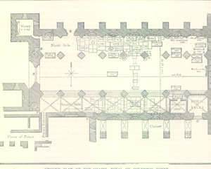 Ground Plan of the Chapel Royal
