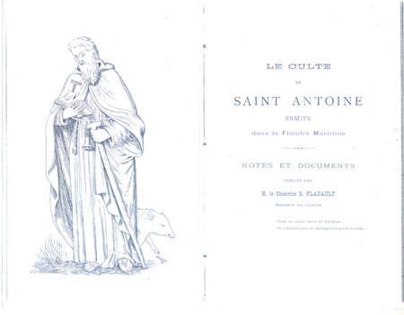 A monk of the Preceptory of St Anthony Leith
