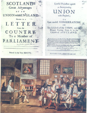 pamphlets pro and con of Union