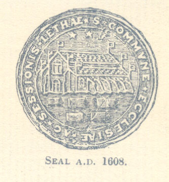 Seal of South Leith Church 1608