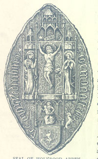 Seal of Holyrood Abbey
