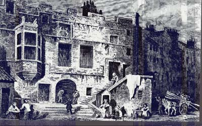 The Leith Tolbooth 18th century