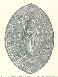The Seal of the Convent of St Katherine