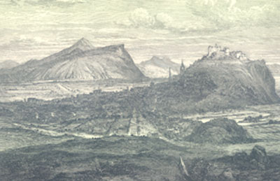 View of Edinburgh from Leith 1693